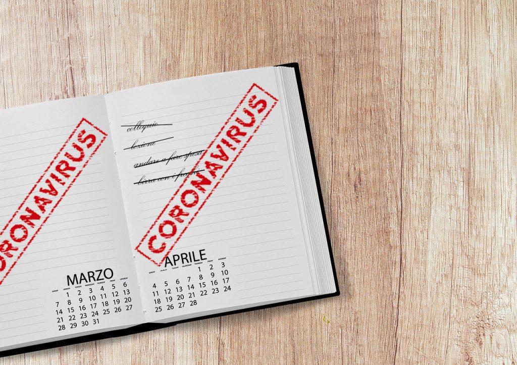 coronavirus agenda